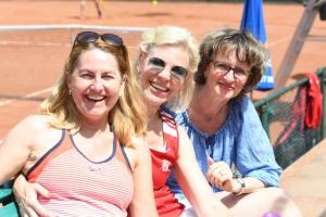 Annemarie, Andrea en Mariette
